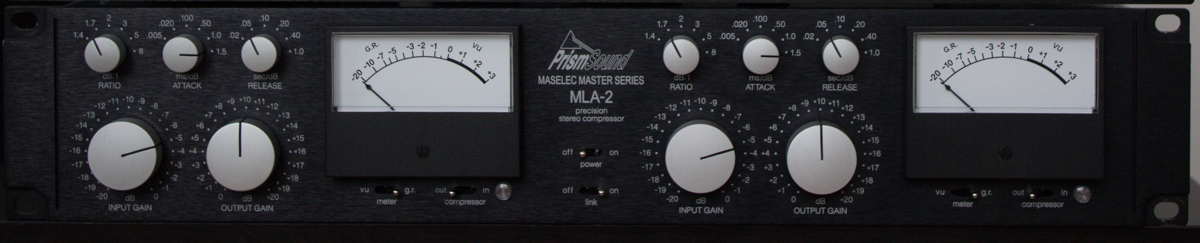 Mixing and Mastering with the Prism Sound Maselec MLA-2 Compressor