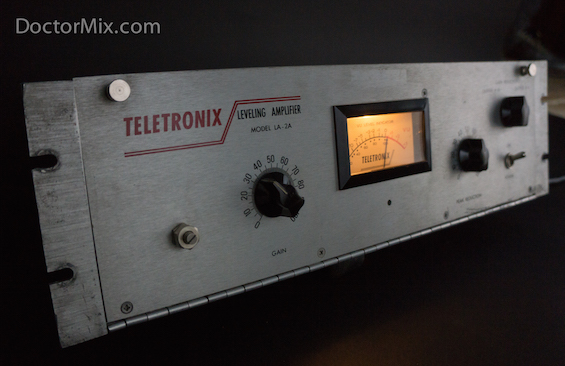 The Teletronix LA-2A compressor