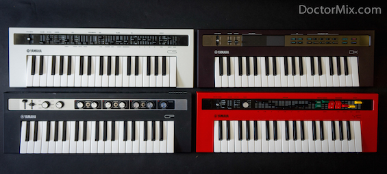 The 4 Yamaha Reface Synthesisers