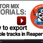How To Export Multiple Tracks In Reaper – Video Tutorial