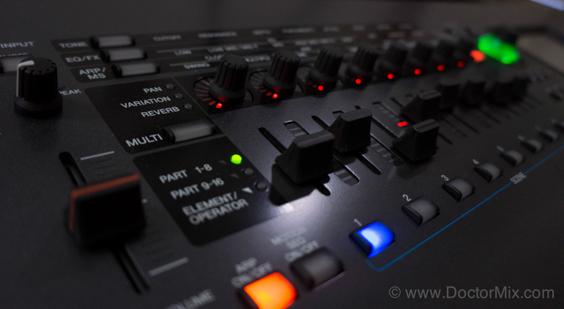 Yamaha Montage Controls