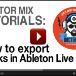 How to Use Ableton To Export Multiple Tracks – Video Tutorial