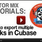 How To Export Multiple Tracks In Cubase