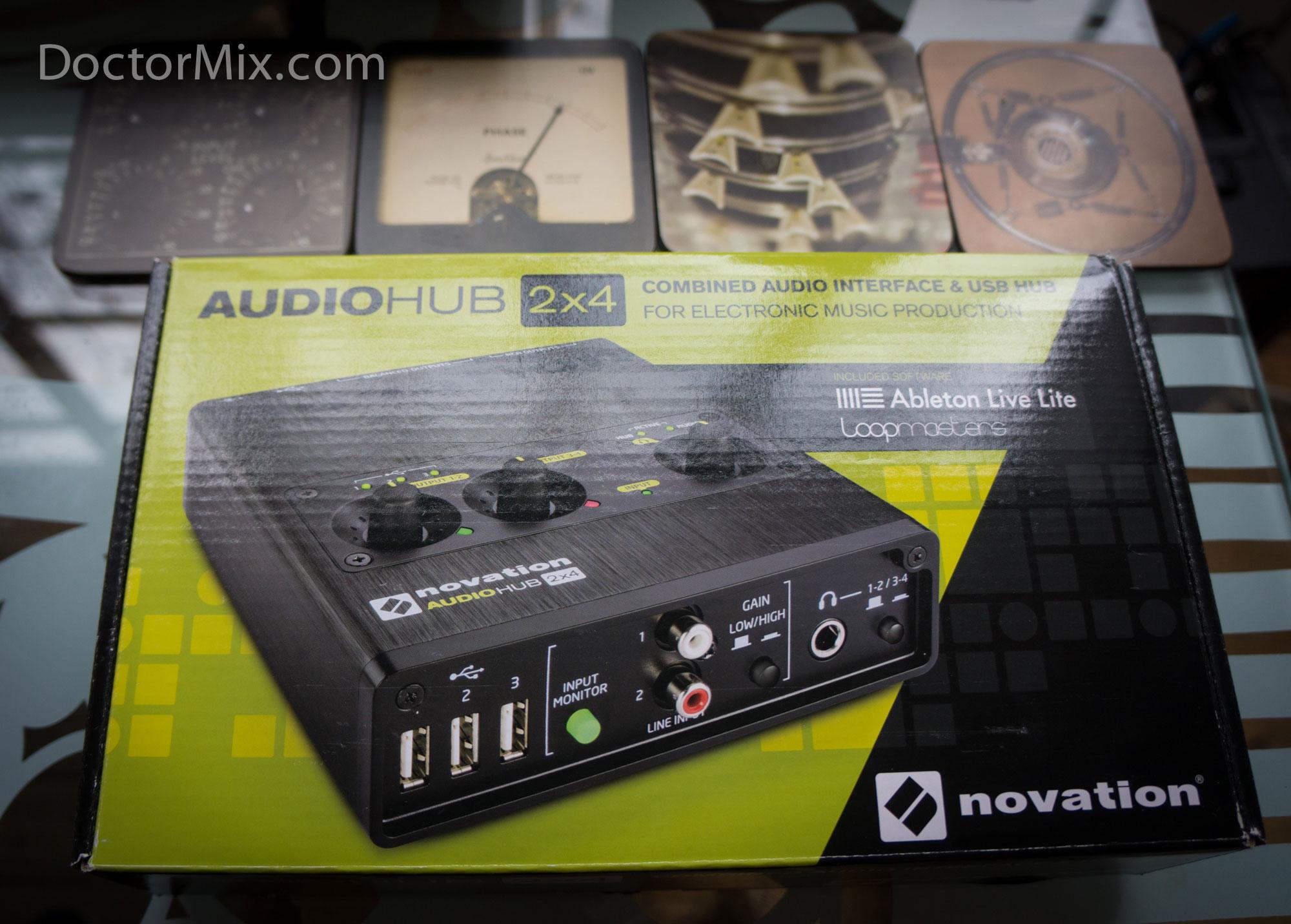 Novation Audiohub 2×4