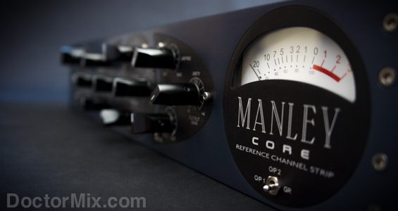Manley Core Reference Channel Strip Meter Detail 565