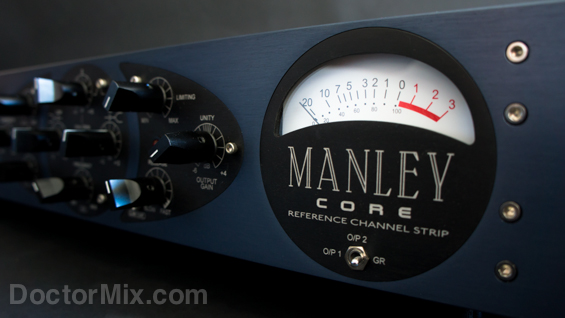 Manley Core Reference Channel Strip Meter 565
