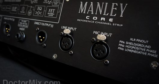 Manley Core Reference Channel Strip Detail Back 565