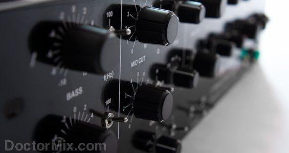 The Swift EQ knobs