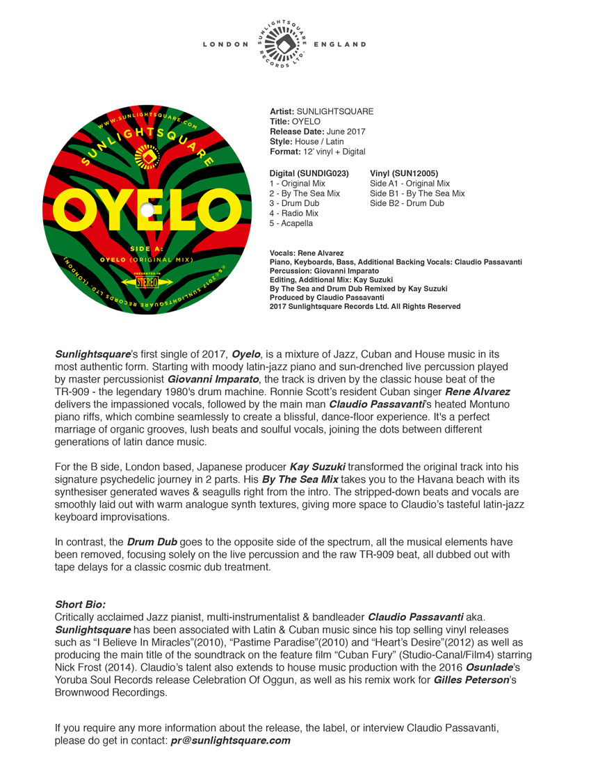 Example Of Press Release